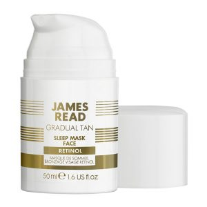 Sleep Mask Tan Retinol, 50 ml James Read Itseruskettavat
