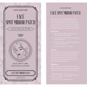KOCOSTAR Face Spot Mirror Patch, Kocostar K-Beauty