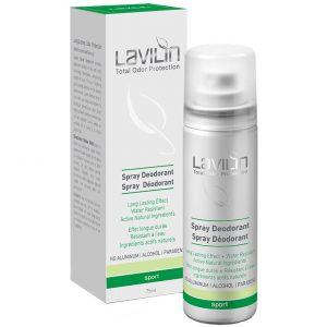 Lavilin 72h Deodorant Spray- Sport with probiotics, Lavilin Suihkeet