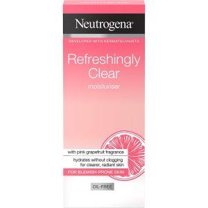 Neutrogena Refreshingly Clear Moisturiser, 50 ml Neutrogena Päivävoiteet
