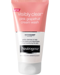 Visibly Clear Pink Grapefruit Cream Wash 150ml