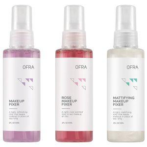 All Set Mini Makeup Fixer Trio, 177 g OFRA Cosmetics Kiinnityssuihke