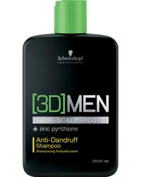 3D Men Anti-Dandruff Shampoo 250ml