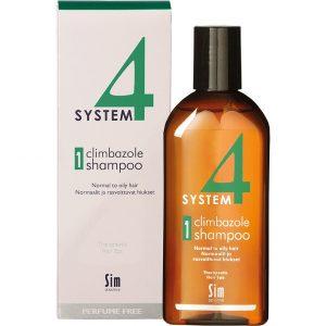SIM Sensitive System 4 Climbazole Shampoo 1, 215 ml SIM Sensitive Shampoo