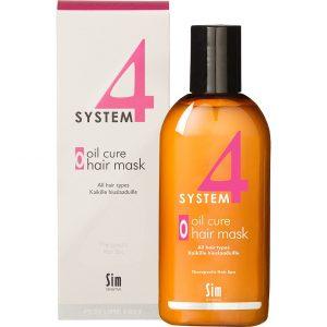 SIM Sensitive System 4 Oil Cure Hair Mask, 215 ml SIM Sensitive Tehohoidot