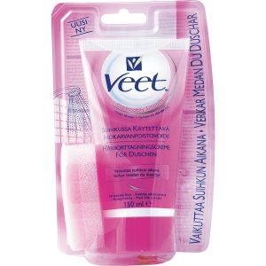 In Shower Hair Removal Cream For Normal Skin, 150 ml Veet Karvanpoisto