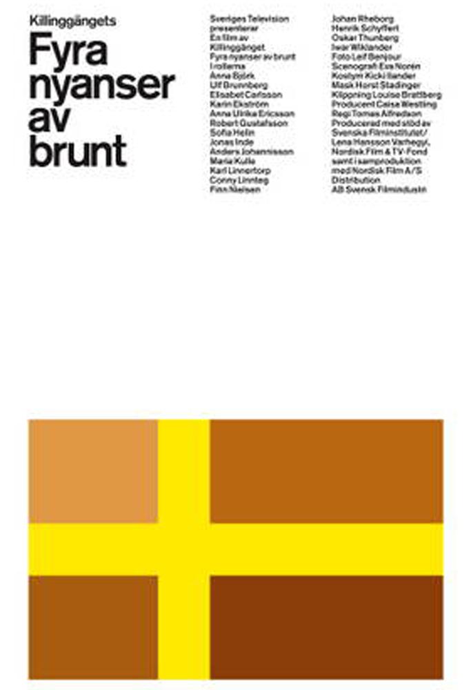 Fyra nyanser av brunt
