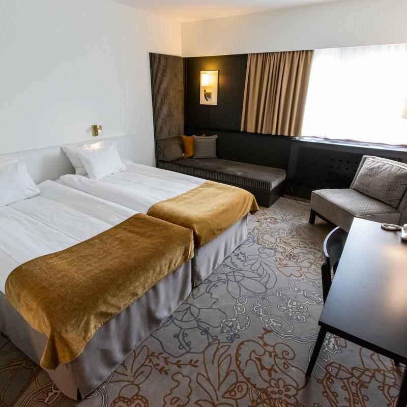 Hotellbeläggningen i Växjö ökade med 17 000 rum