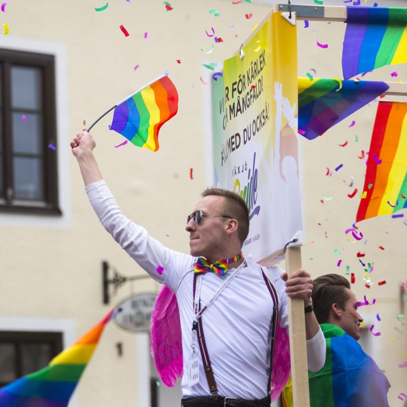 Växjö Pride slår rekord igen