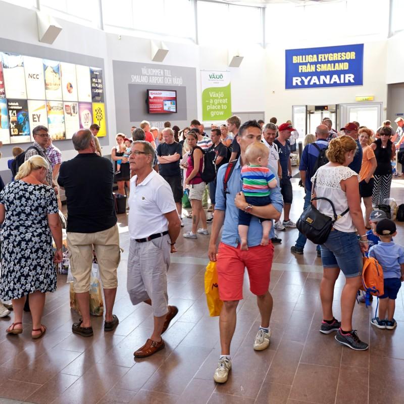 Nytt rekord för Växjö Småland Airport