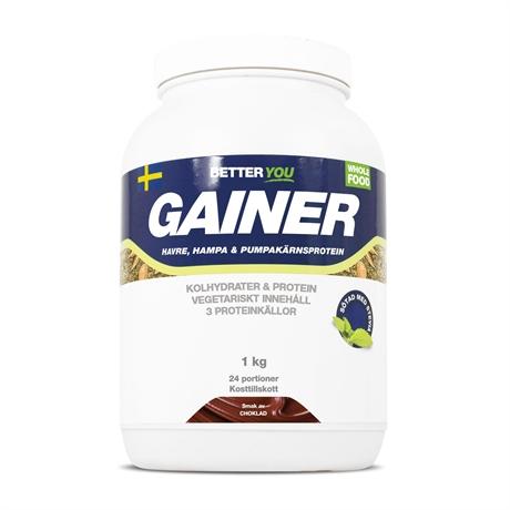 Better You Vegetarisk Gainer 1kg - Choklad