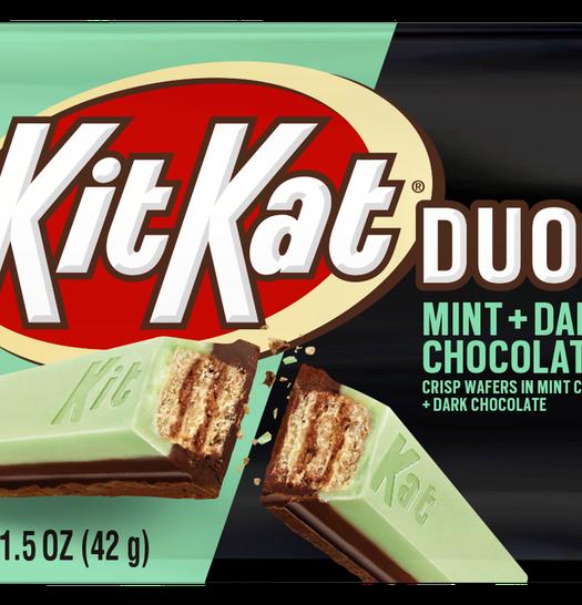 Kit Kat Duos Mint Dark Chocolate Bar 42g