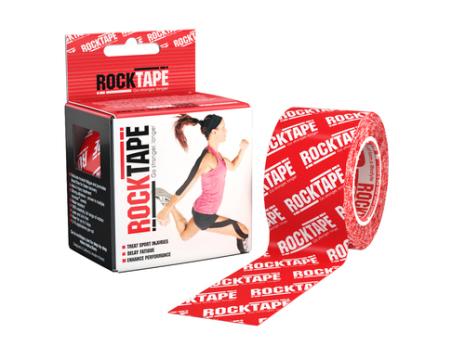 RockTape 5cm x 5m - Red Logo
