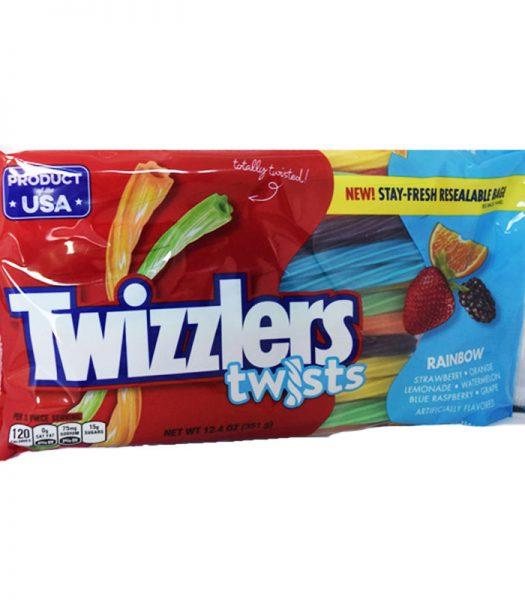 """Godisstänger """"Twizzlers"""" 351g - 67% rabatt"""