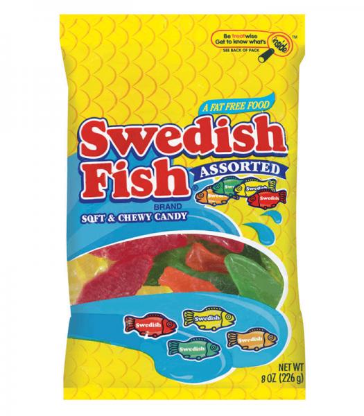 Swedish Fish Assorted Bag 226g