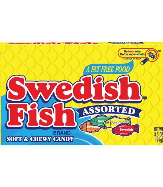 Swedish Fish Assorted Box 99g