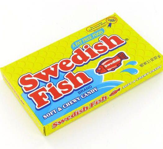 Swedish Fish Red Theatre Box 88gram