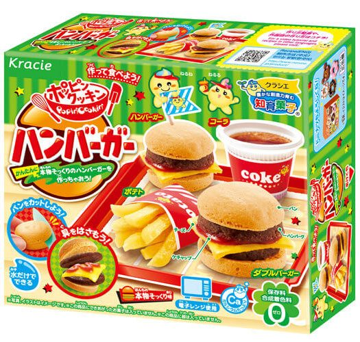 Popin Cookin DIY Hamburger Kit
