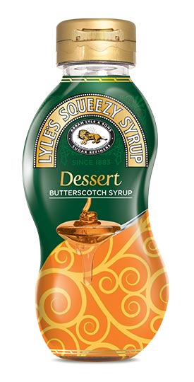 Lyles Squeezy Syrup Dessert Butterscotch Syrup 325g