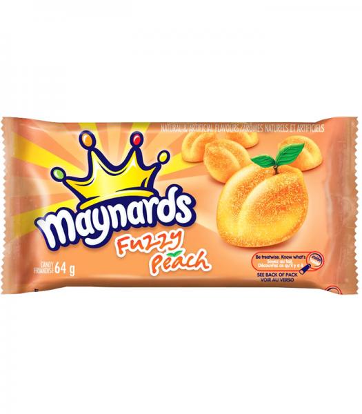 Maynards Fuzzy Peach 64g