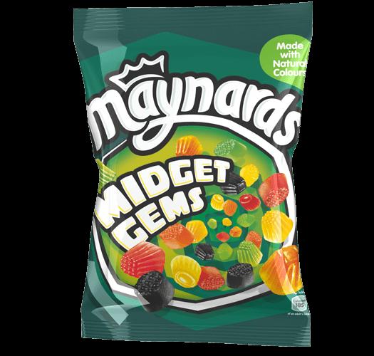 Maynards Midget Gems Sweets Bag 160g