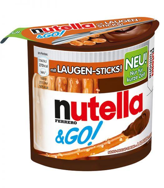 Pretzels & Nutella 54g - 74% rabatt