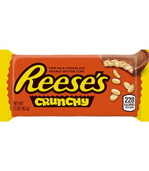 """Godis """"Crunchy Peanut Butter Cups"""" 42g - 76% rabatt"""