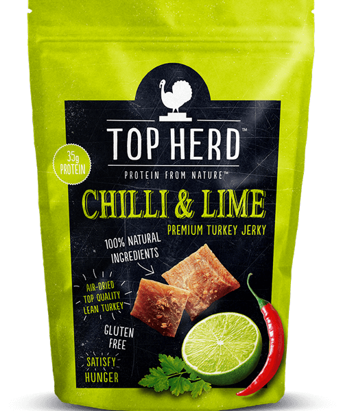 Top Herd Chilli Lime Turkey Jerky 35G