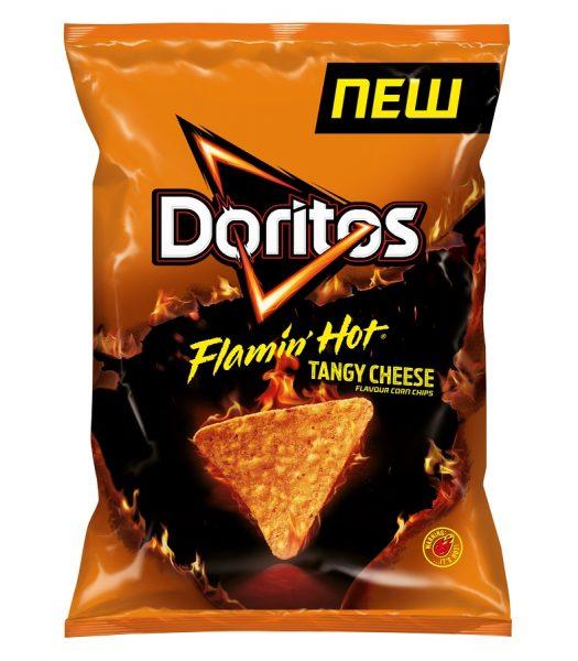 Doritos Flamin Hot Nacho Cheese 170g