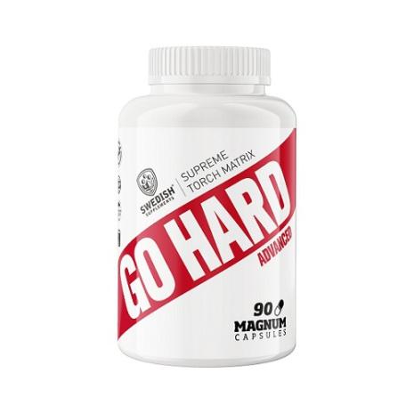 Swedish Supplements Go Hard Advanced 90 kapslar