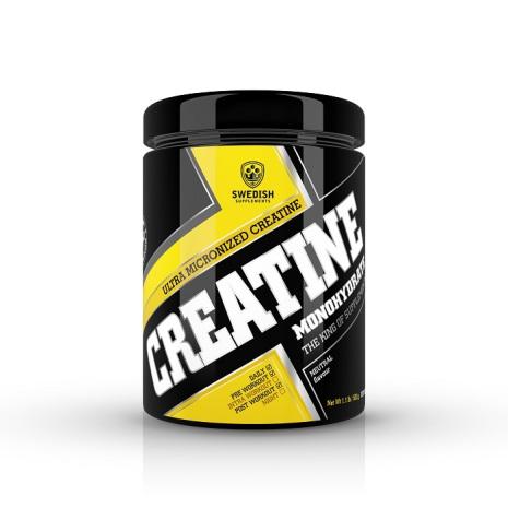 Swedish Supplements Creatine Monohydrate 500g