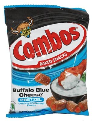 Combos Buffalo Blue Cheese Pretzel Cracker 179g