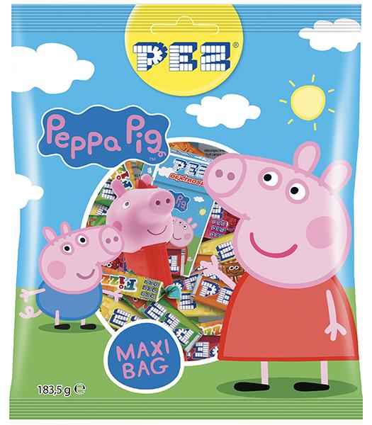 PEZ Peppa Pig Bag 183,5g