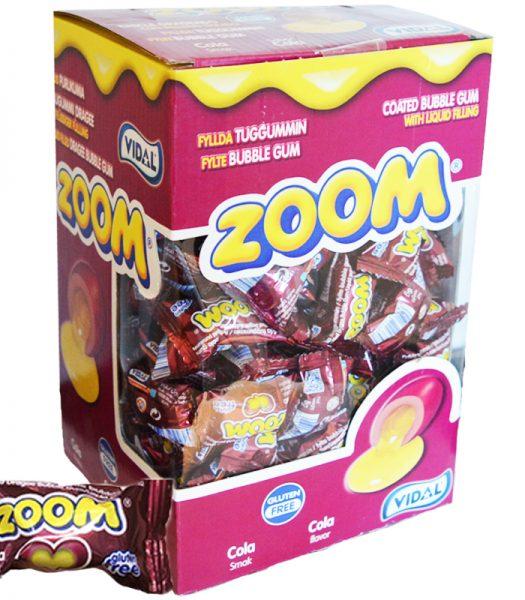 "Hel Låda Godis ""Zoom Cola"" 150 x 6g - 60% rabatt"