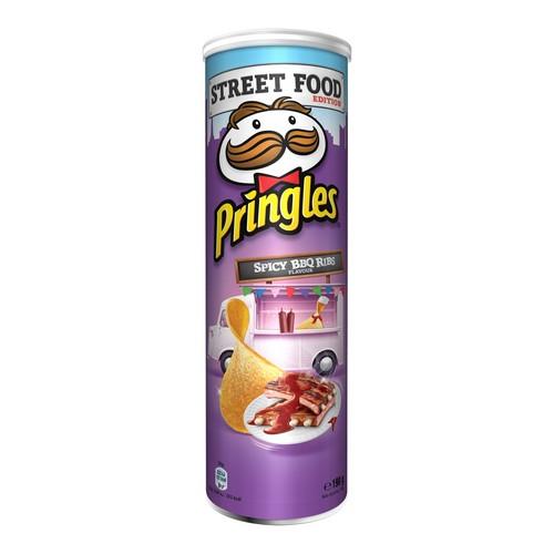 Pringles BBQ Ribs 190g