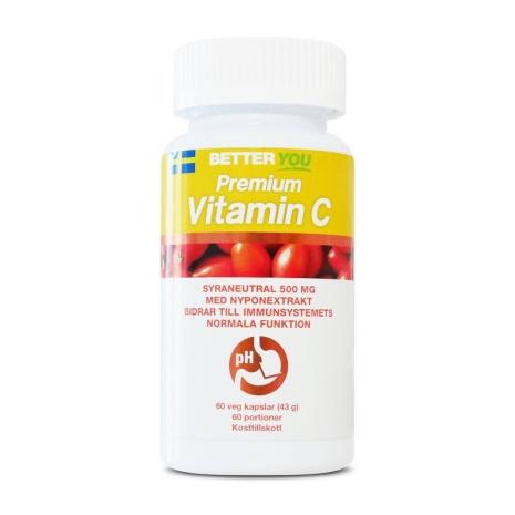 Better You Premium C-Vitamin - 60 kapslar