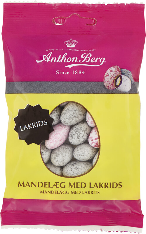Anthon Berg Mandelägg Lakrits 80g