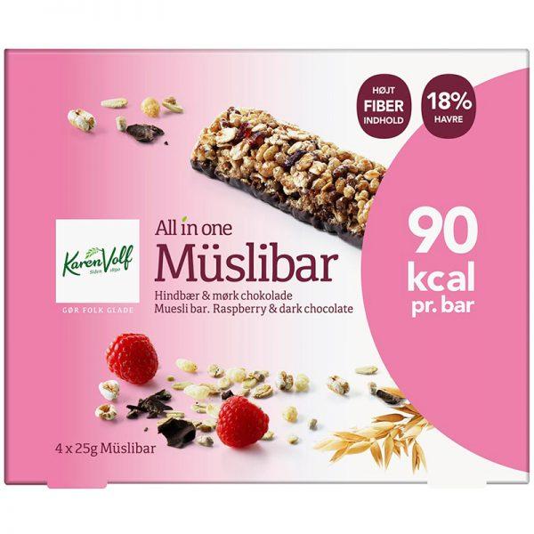Müslibar Hallon & Mörk Choklad - 26% rabatt
