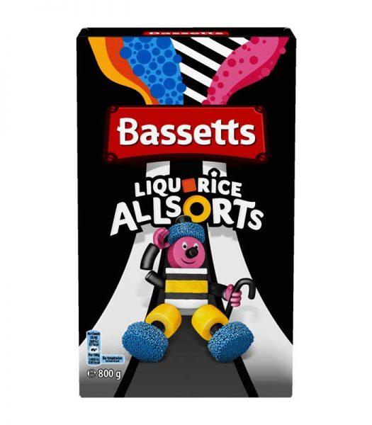 Bassett's Liqourice Allsorts 800g