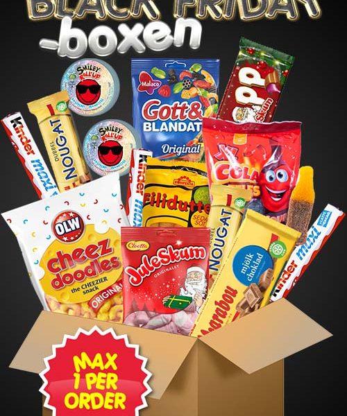 Black Friday-boxen MAX 1 PER ORDER