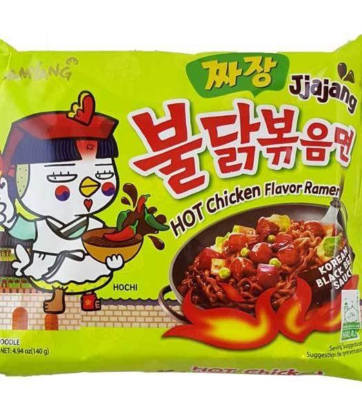 Samyang Hot Chicken Jjajang 140g