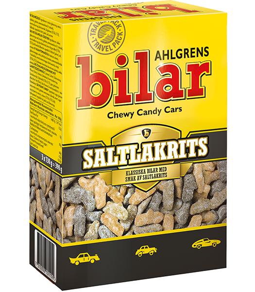 Ahlgrens Bilar Saltlakrits Box 390G