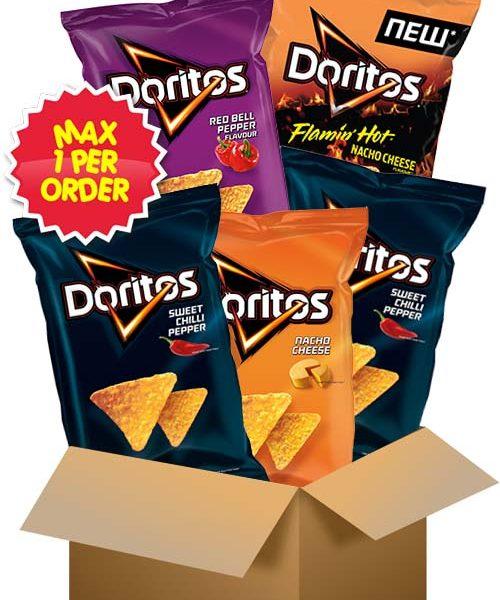 Doritosboxen - 5 påsar