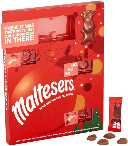 Malteser Merryteaser Advent Calendar 108g