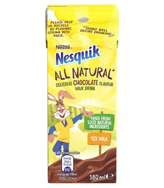 Nesquik All Natural Chocolate Milk 180ml